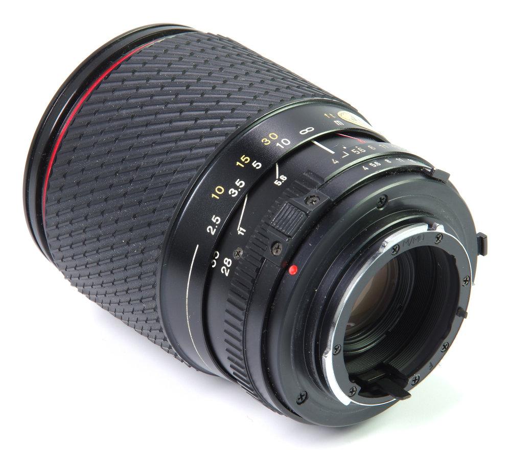 Tokina 28 105mm Rear Oblique View