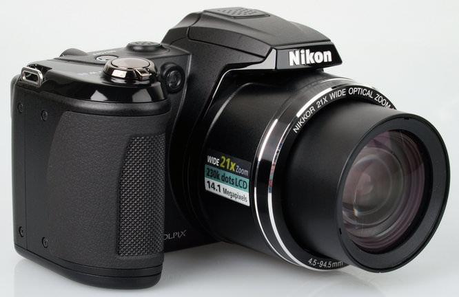 Nikon Coolpix L310 Front