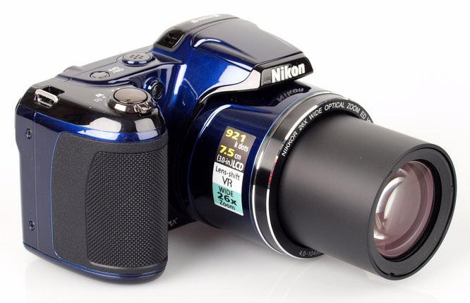Nikon Coolpix L810 Lens Extended