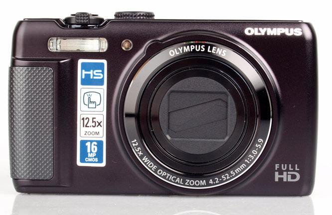 Olympus SH-21 front