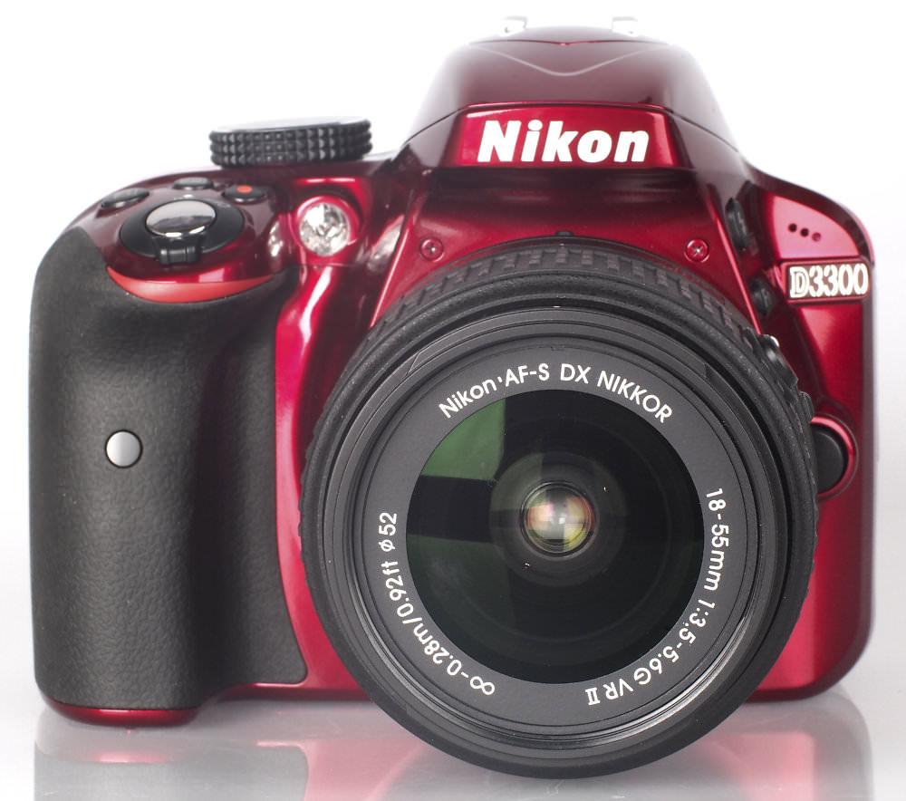 Highres Nikon D3300 Red 16