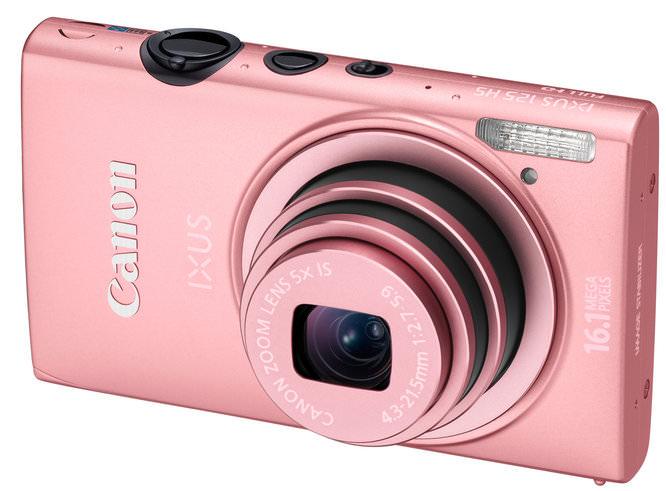 Canon PINK IXUS 125 HS FSL HOR