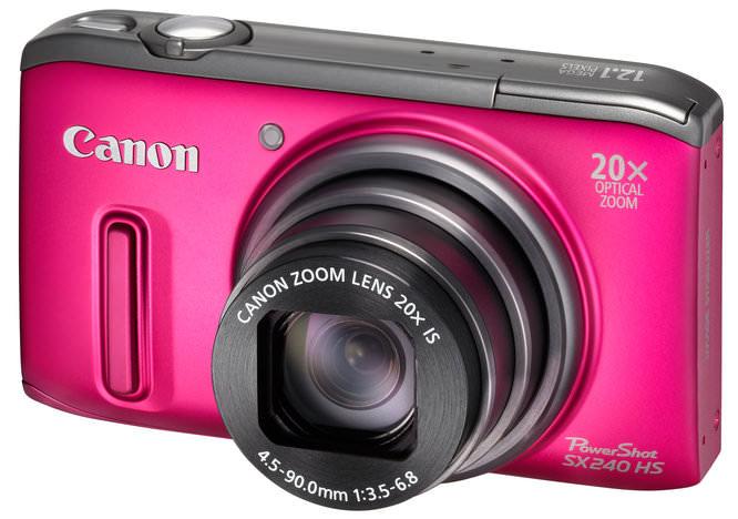 Canon Powershot SX240 HS FSL Pink