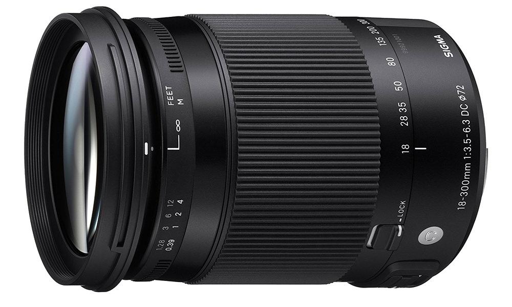 Sigma 18-300mm f/3.5-6.3 Macro OS HSM C