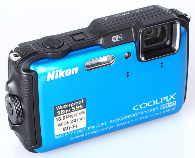 Nikon Coolpix AW120 Blue (4)
