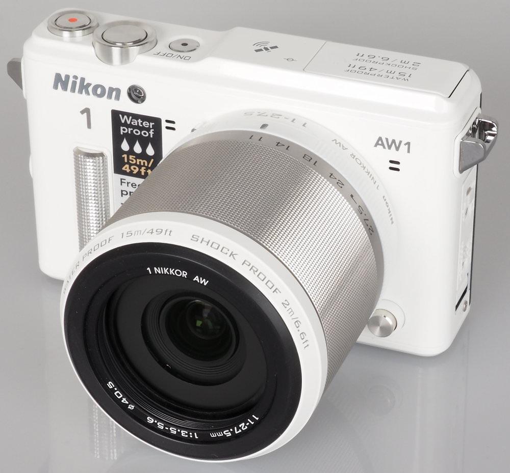 Nikon 1 AW1 White (17)