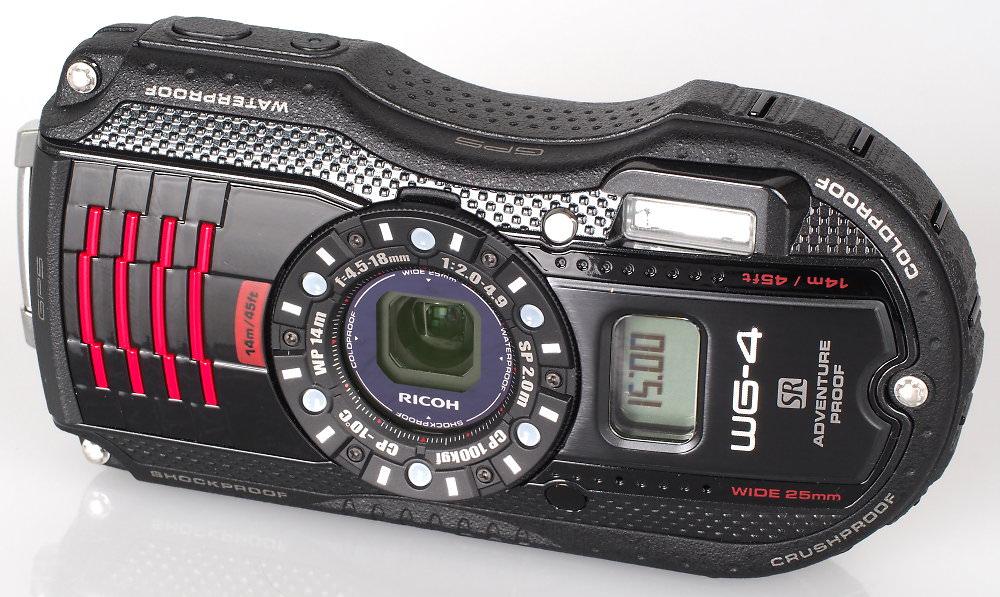 Ricoh WG 4 GPS Black (4)