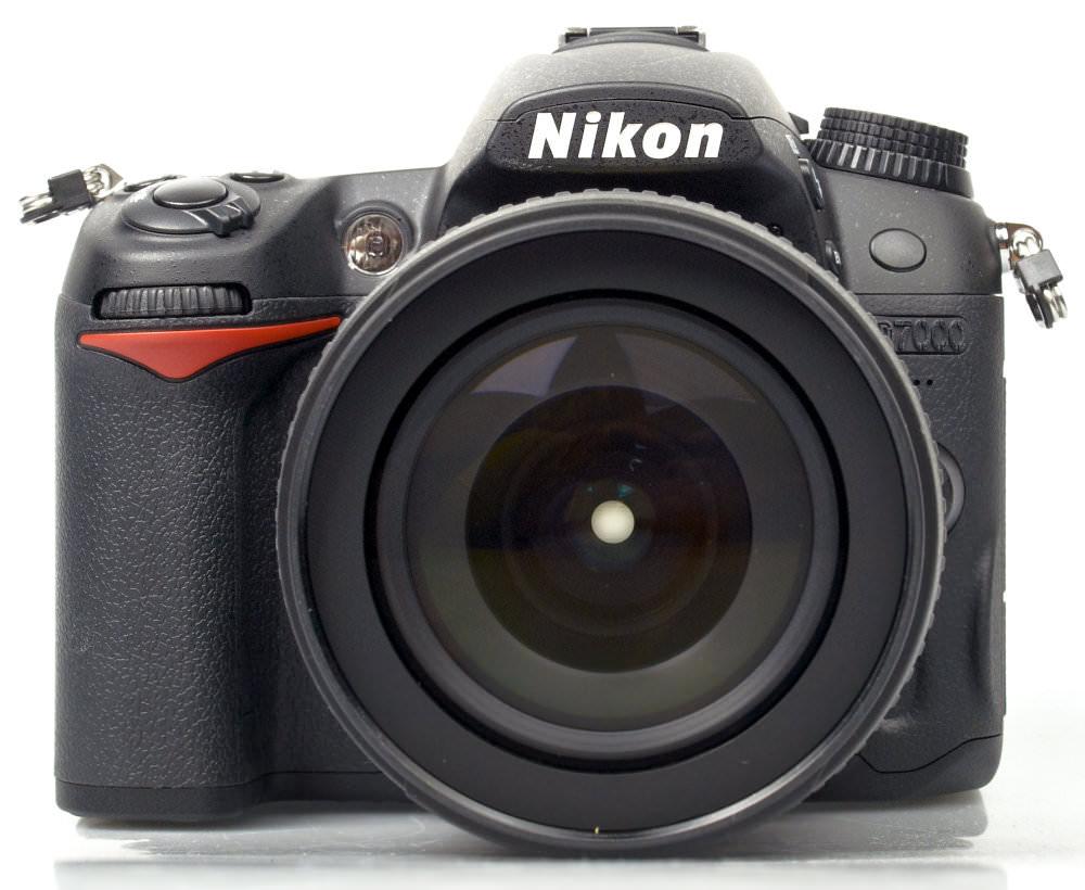 Nikon D7000 Dslr Front Direct