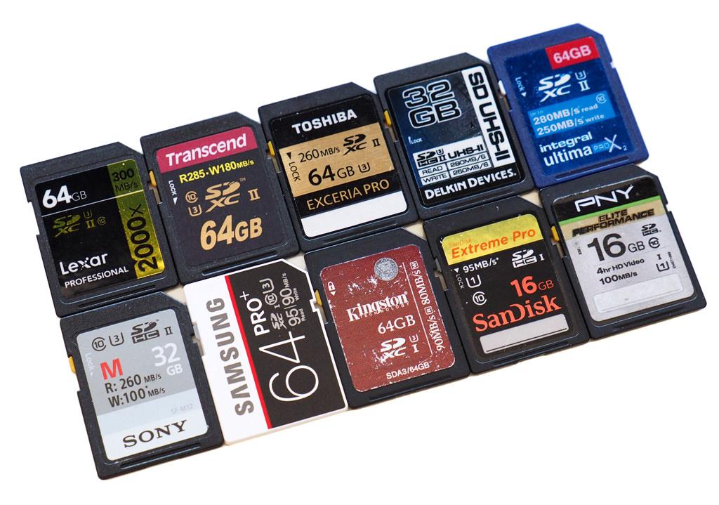 top 10 best sd memory cards tested 2016. Black Bedroom Furniture Sets. Home Design Ideas
