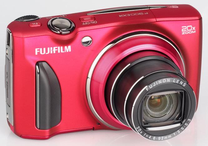 Fujifilm FinePix F900EXR Red (3)