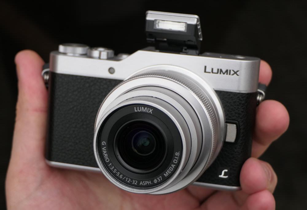 Panasonic Lumix GX800 Silver In Hand (1)