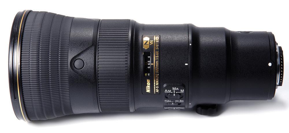 Nikon 500mm F5,6E Top View