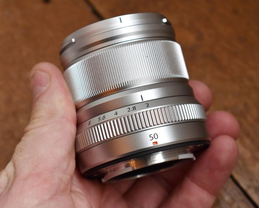 Fujifilm Fujinon 50mm F2 Silver