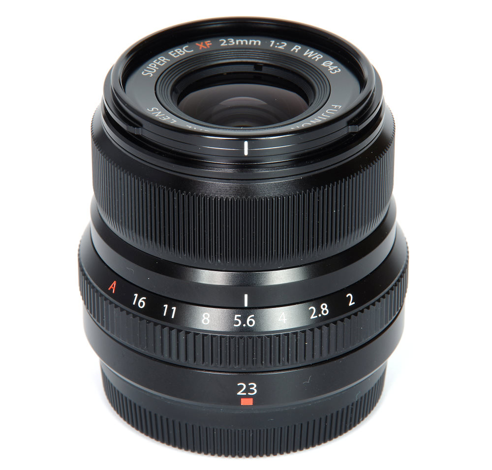 Fujinon Xf 23mm F2 Vertical View