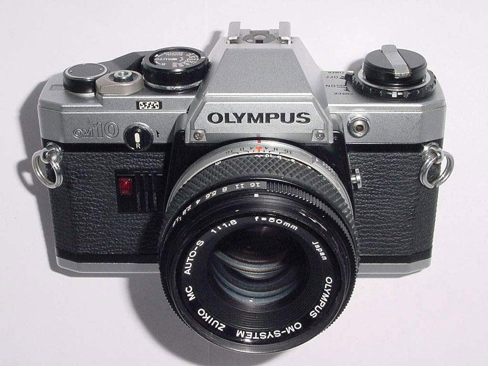 Olympus OM10 SLR 35mm Analogue Film Camera