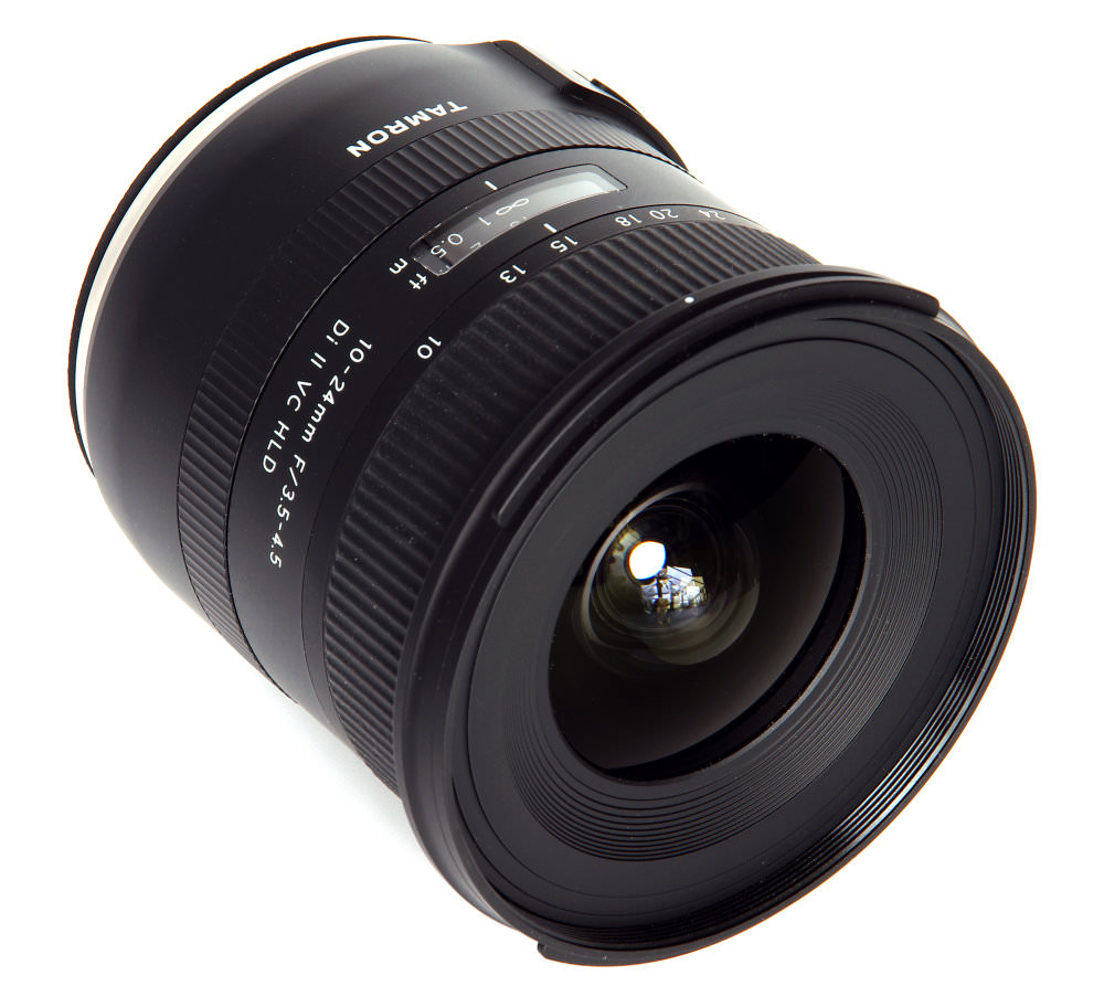 Tamron 10 24mm DiII Vc Hld Front Oblique View