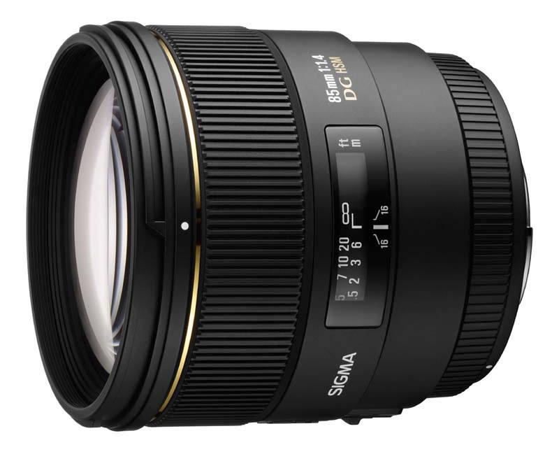 Sigma 85mm F1 4 Lens