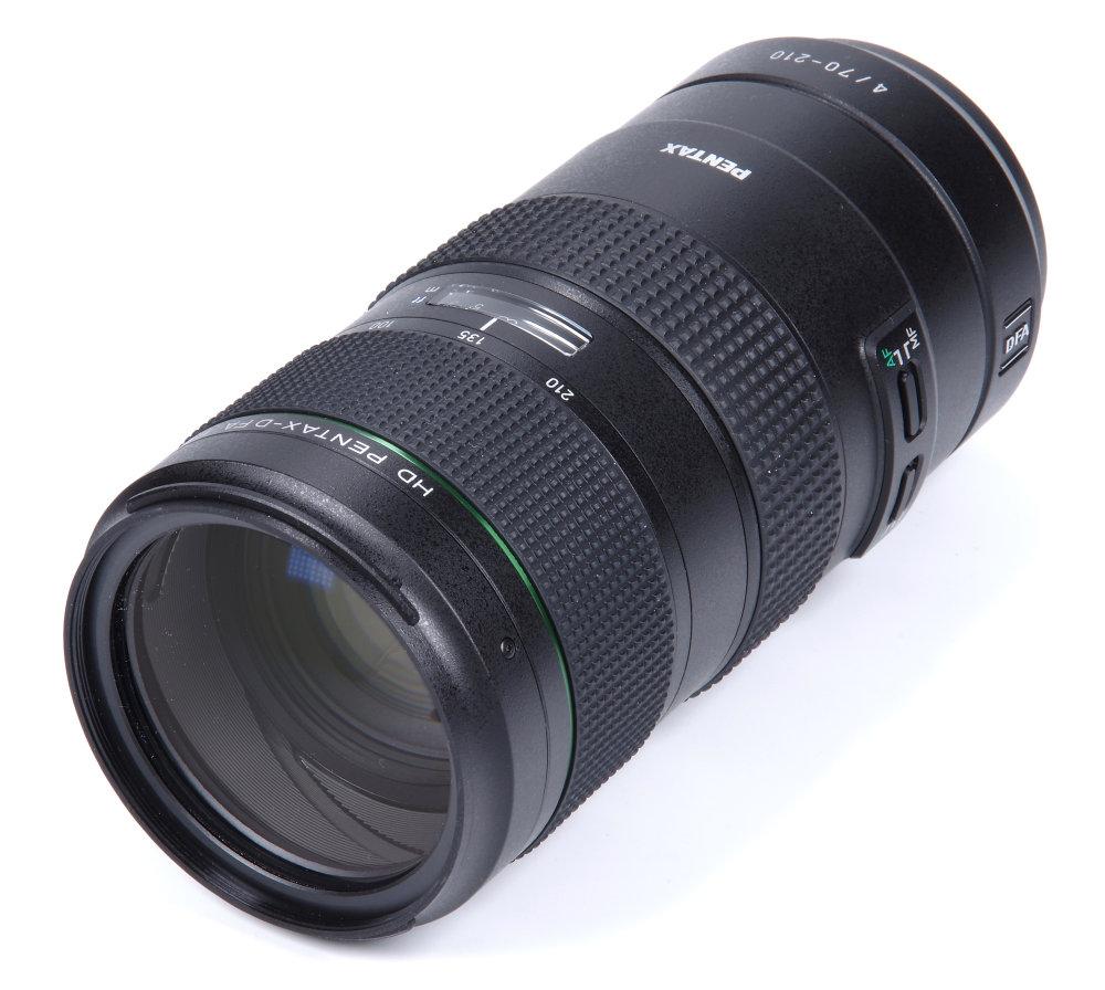 Pentax HD D FA 70-210mm f/4 ED SDM WR