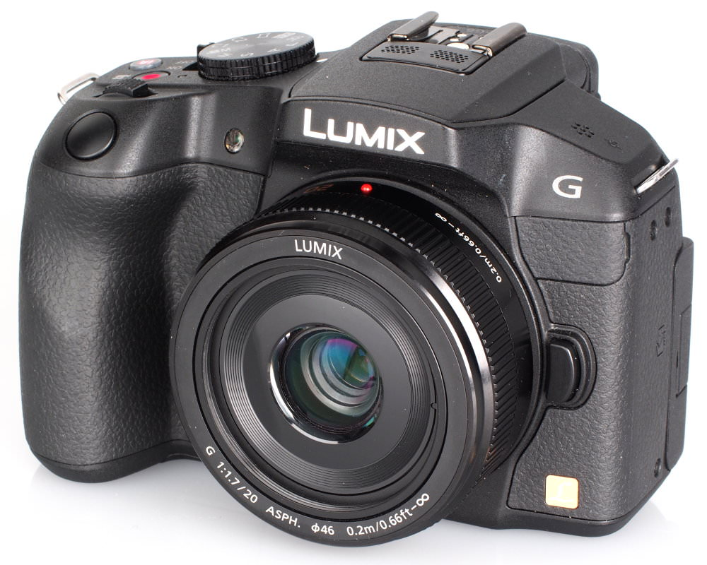 Panasonic Lumix G 20mm F 1 7 II ASPH Panasonic Lumix G6