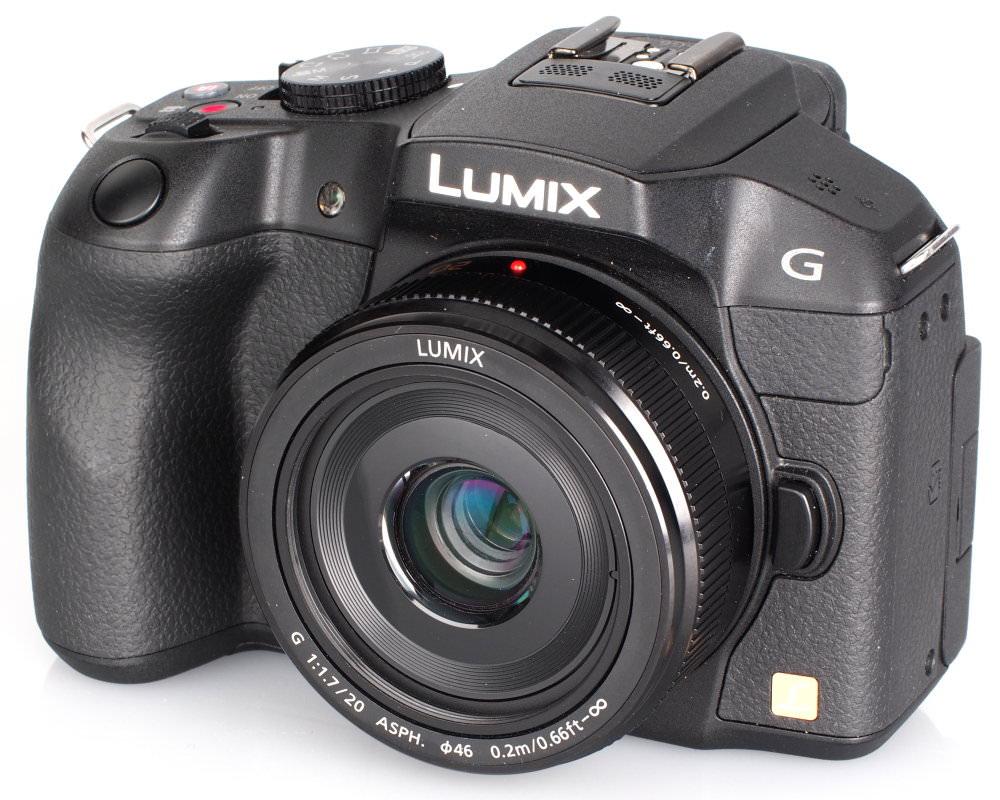 Panasonic Lumix G 20mm F 1 7 II ASPH Panasonic Lumix G6