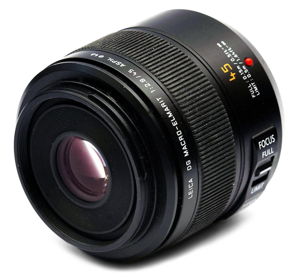 Panasonic Leica 45mm Lens Image New
