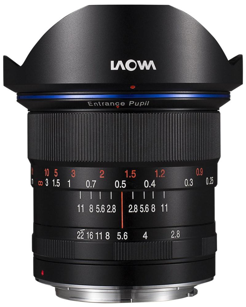 Laowa 12mm F2.8 Zero-D Canon EF