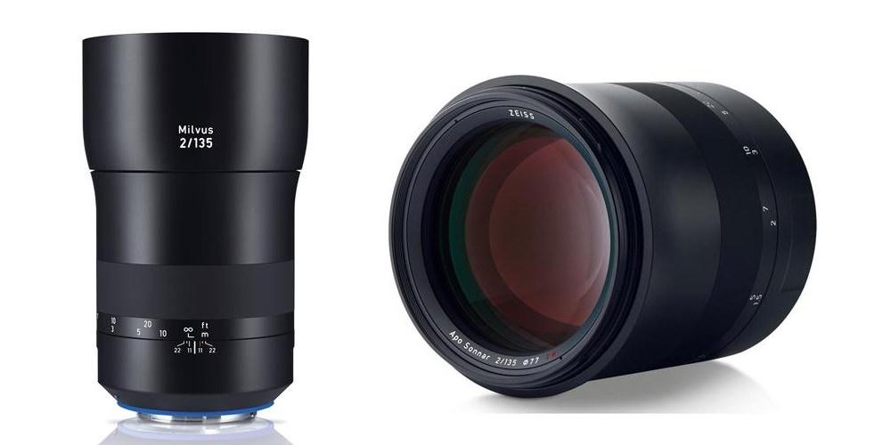 The Zeiss Milvus Apo Sonnar 135mm f/2 lens