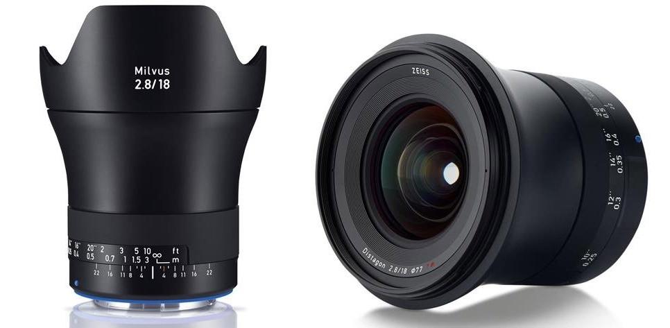 Zeiss Milvus 18mm f/2.8 Distagon T* Lens