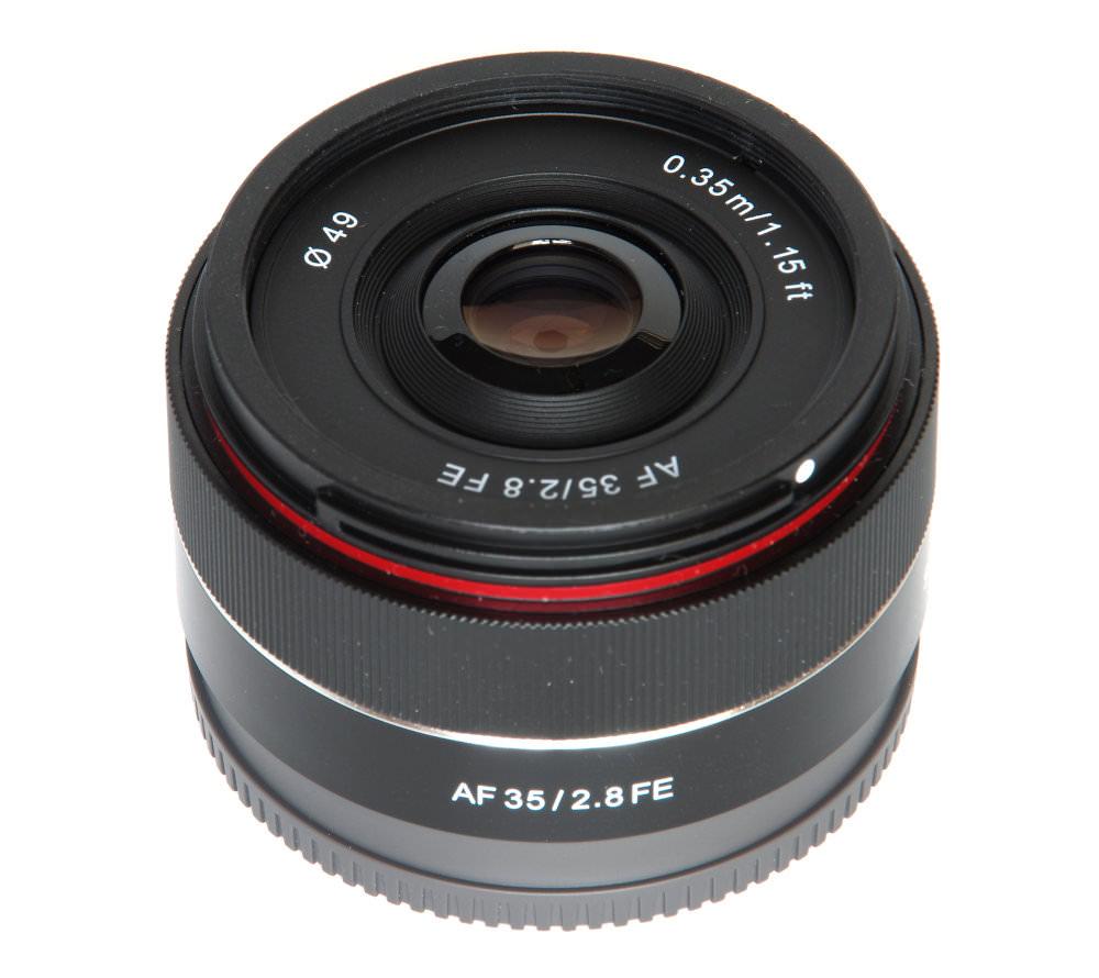 Samyang 35mm F2,8 Vertical View