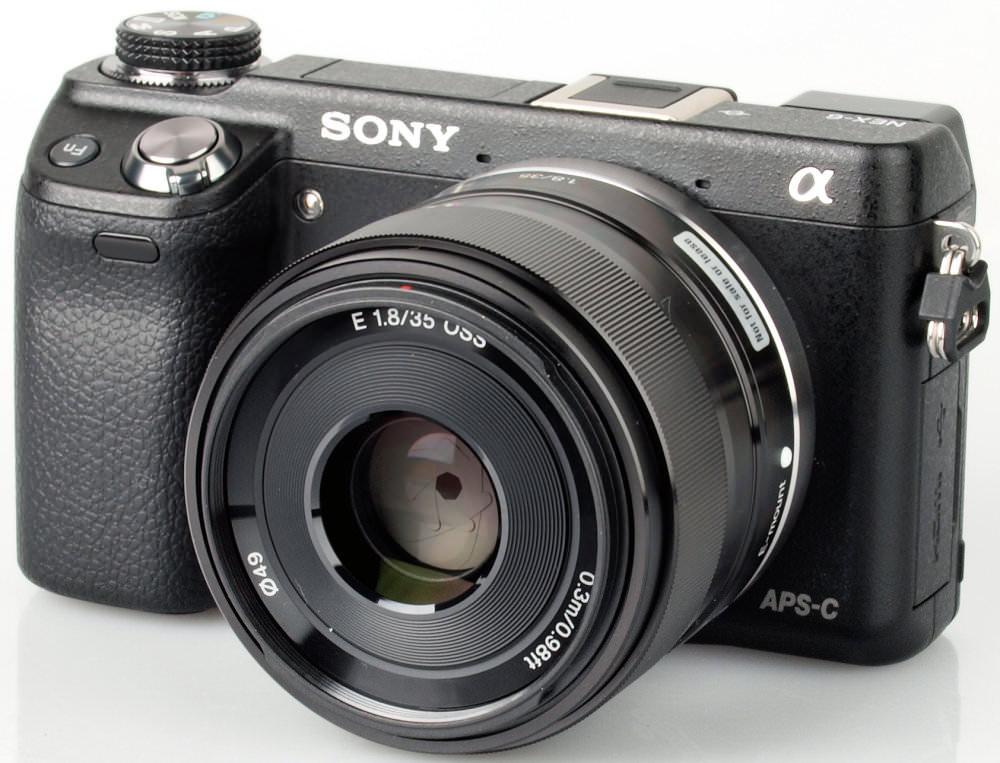 Sony Nex 35mm F1 8 Lens 6