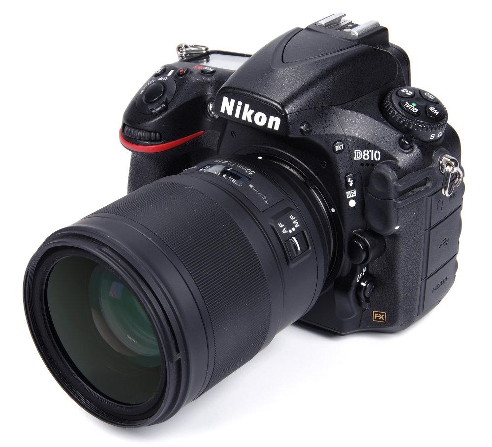 Tokina Opera 50mm F1,4 On Nikon D810