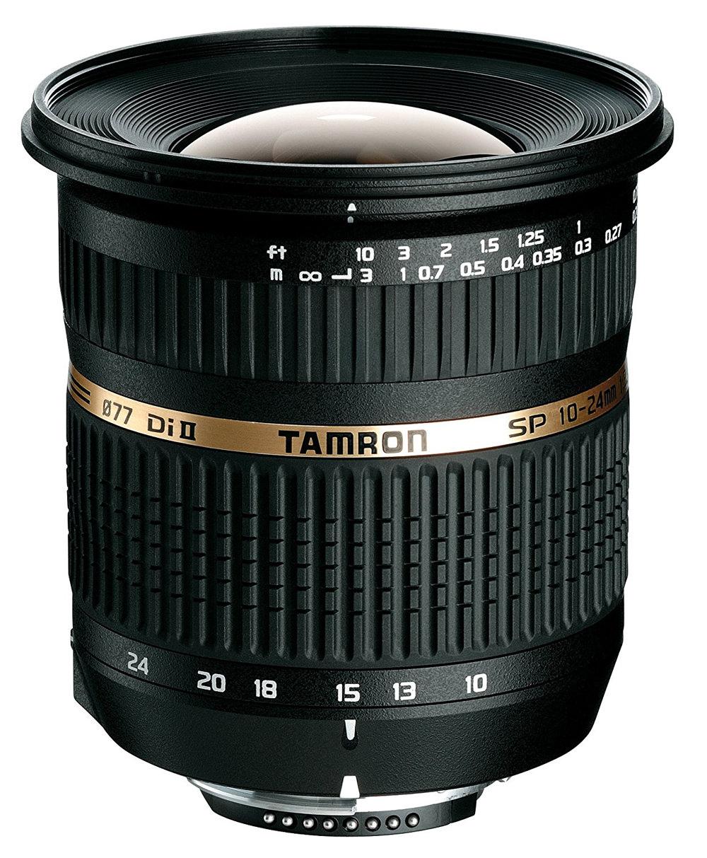 Tamron SP AF 10-24mm F/3.5-4.5 Di II LD Aspherical Lens