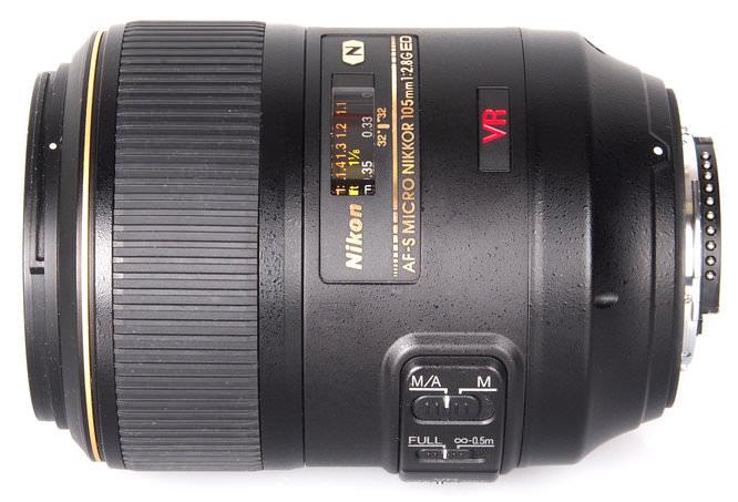 Nikon AF-S 105mm Micro lens