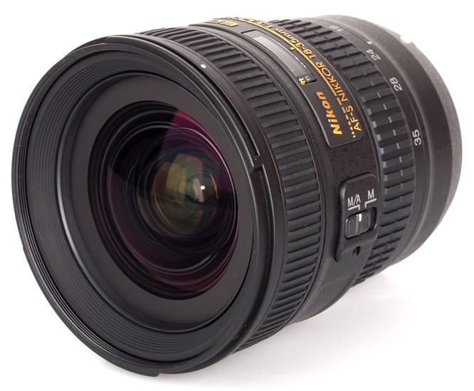 Nikon 18-35mm lens