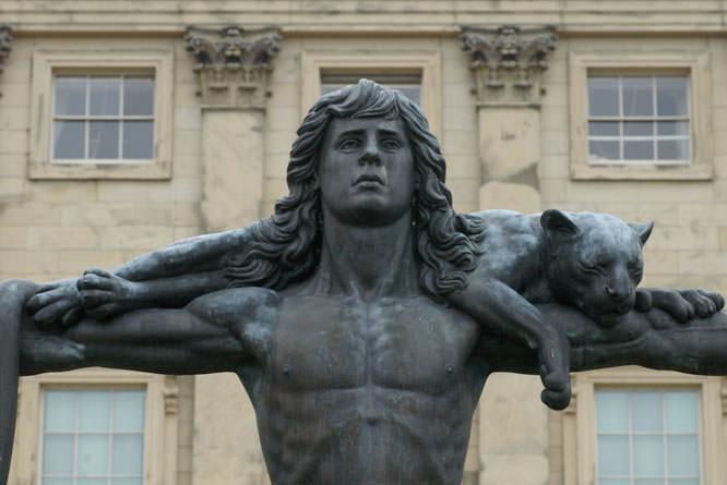 Harwood Statue