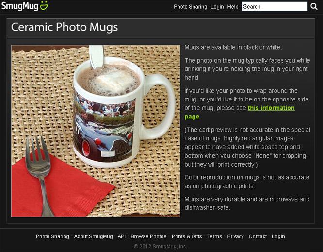 Smugmug mugs