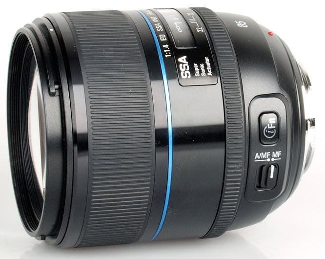 Samsung 85mm lens