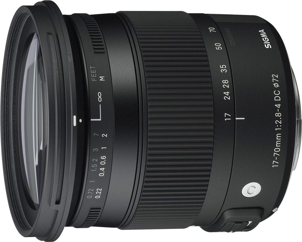 Sigma 17-70mm f/2.8-4 DC OS HSM