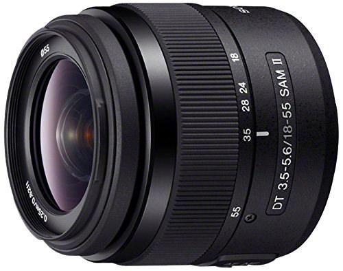 Sony DT 18-55mm F/3.5-5.6 SAM Interchangeable Lens