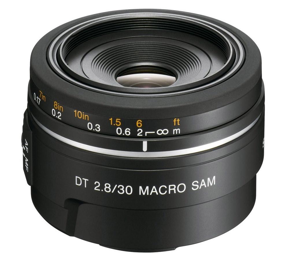 Sony DT 30mm F/2.8 SAM Macro Lens