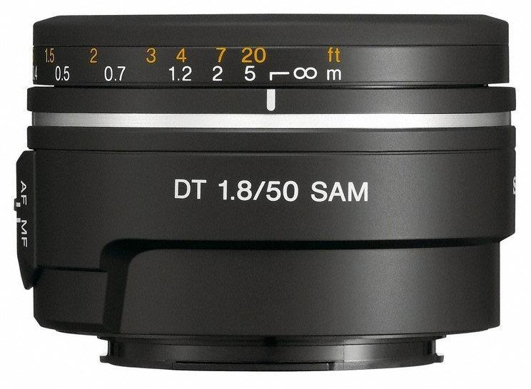 Sony DT 50mm f/1.8 SAM Interchangeable Lens