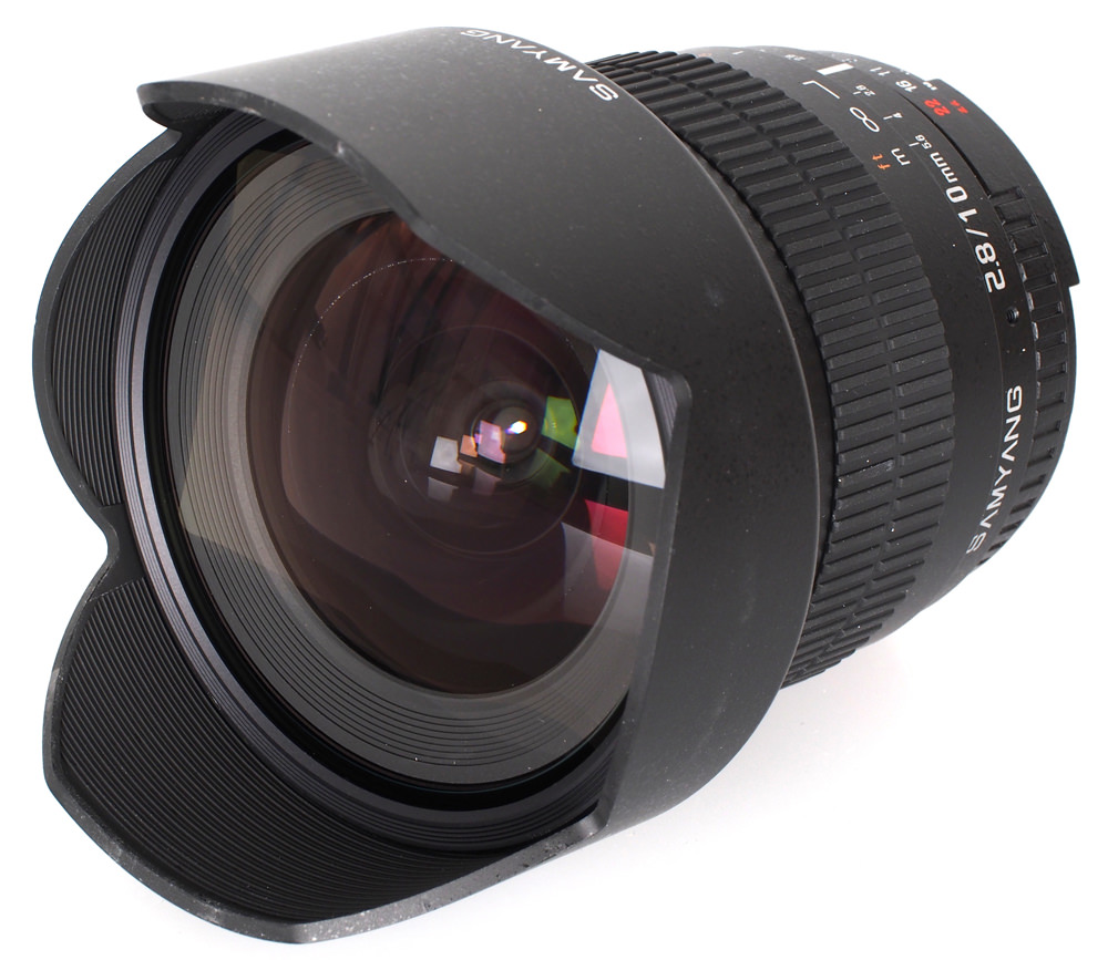 Samyang 10mm f/2.8 ED AS NCS CS Lens