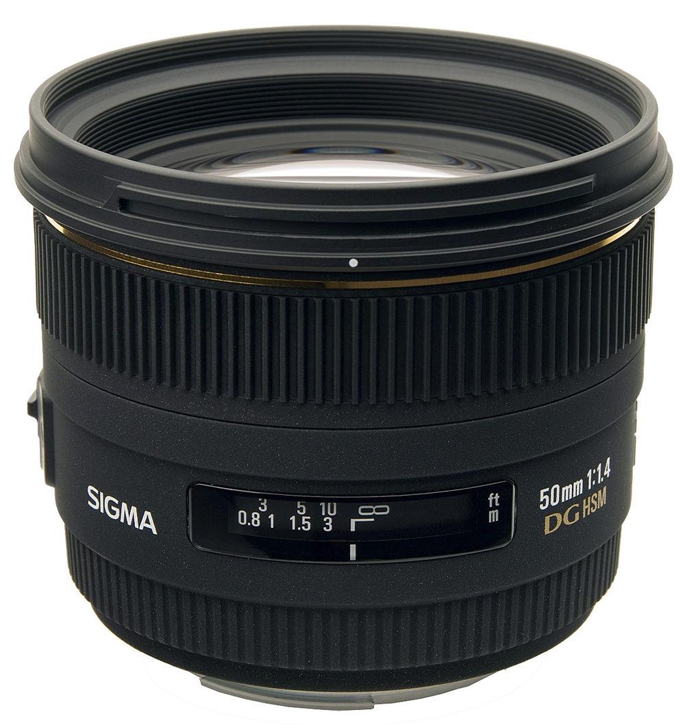 Sigma 50mm f/1.4 EX DG HSM Interchangeable Lens