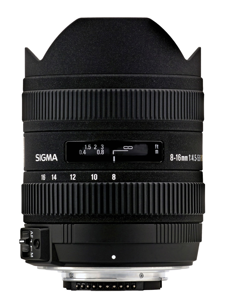 Sigma 8-16mm f/4.5-5.6 DC HSM Interchangeable Lens