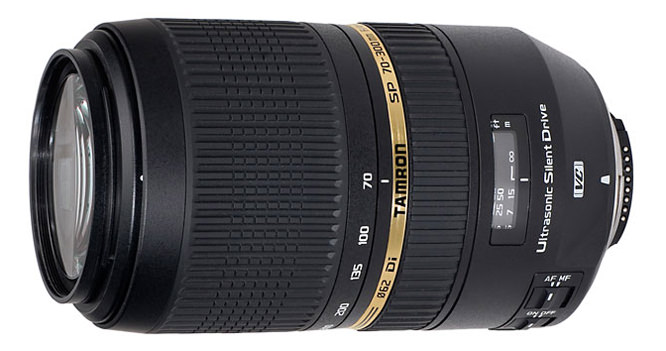 Tamron SP70-300mm f/4-5.6 Di VC USD