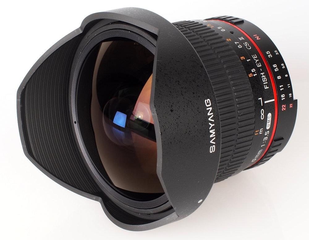 Samyang 8mm f/3.5 UMC Fish-eye CS II Lens