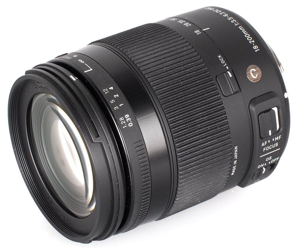 Sigma 18-200mm f/3.5-6.3 DC Macro Contemporary Lens