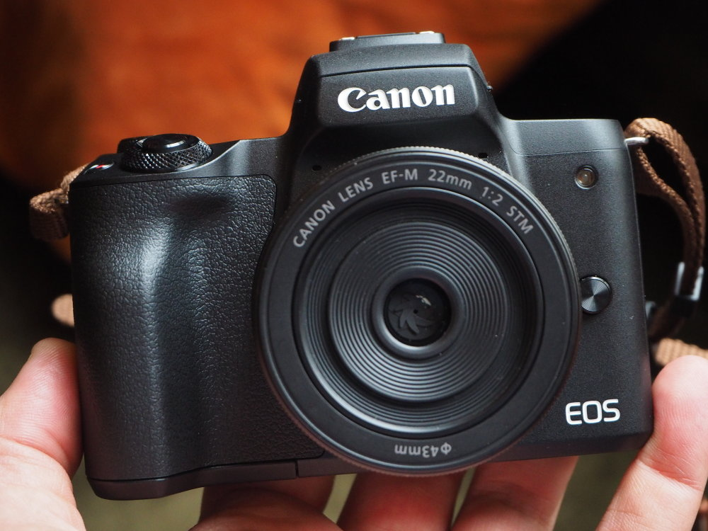 canon m50 eos cameras mirrorless camera compact entry level system ephotozine viewfinder