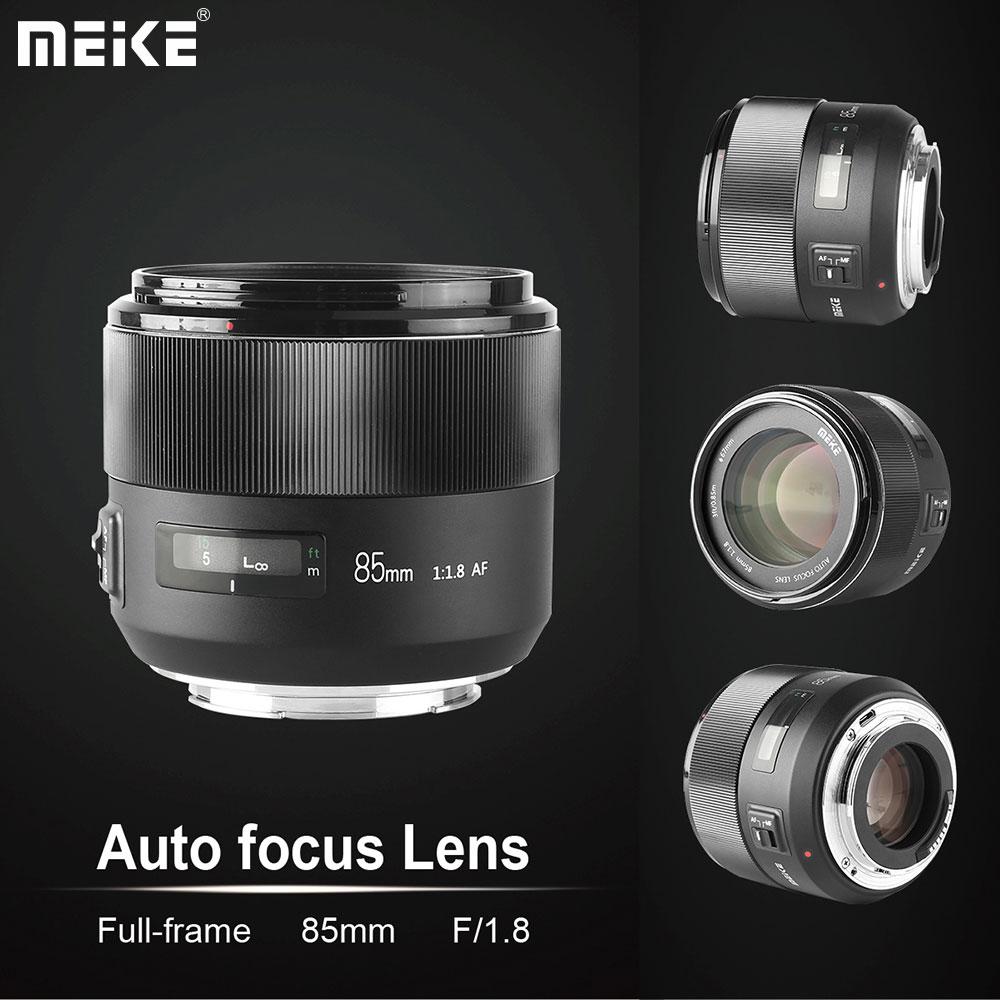 Meike 85mm Full-Frame Lens For Canon EF-Mount