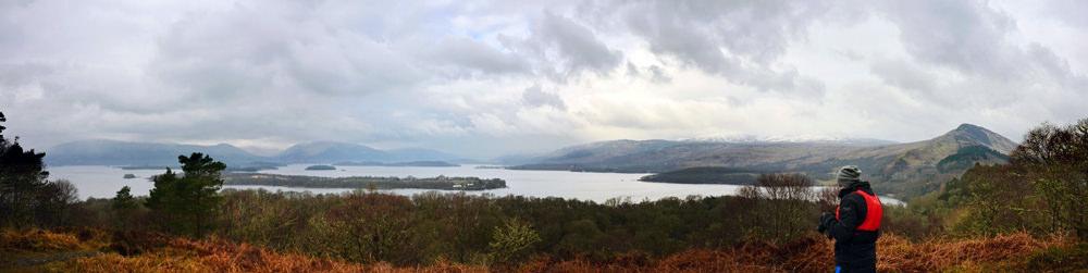 Panoramic Loch Lomond